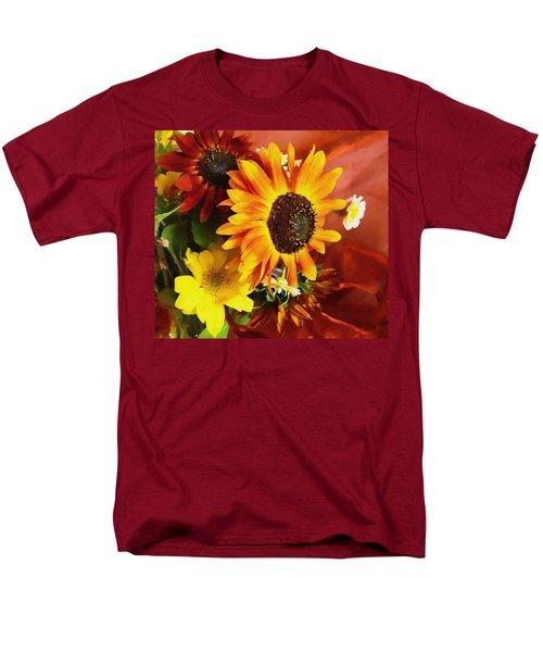 Sunflower Strong Men's T-Shirt  (Regular Fit)