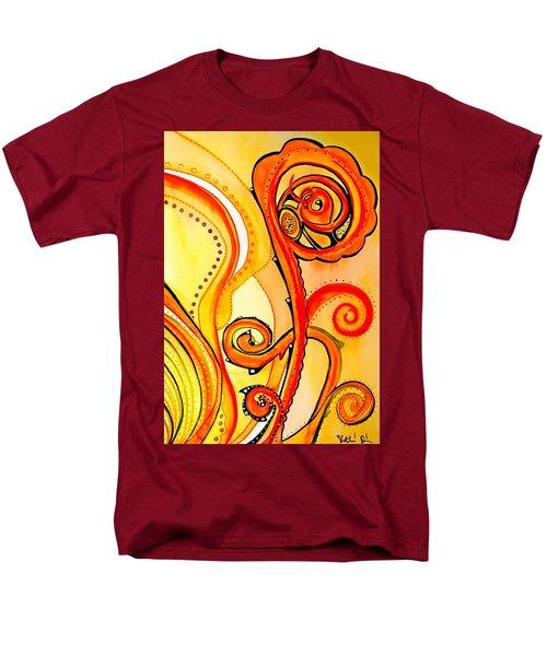 Sunny Flower - Art By Dora Hathazi Mendes Men's T-Shirt  (Regular Fit) by Dora Hathazi Mendes
