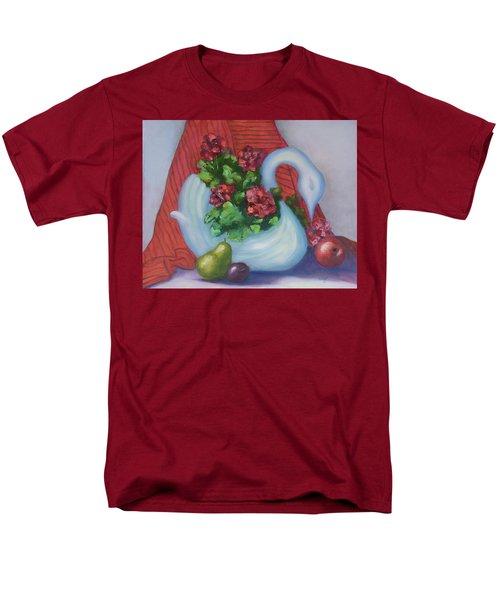 Swanza's Swan Men's T-Shirt  (Regular Fit) by Quwatha Valentine