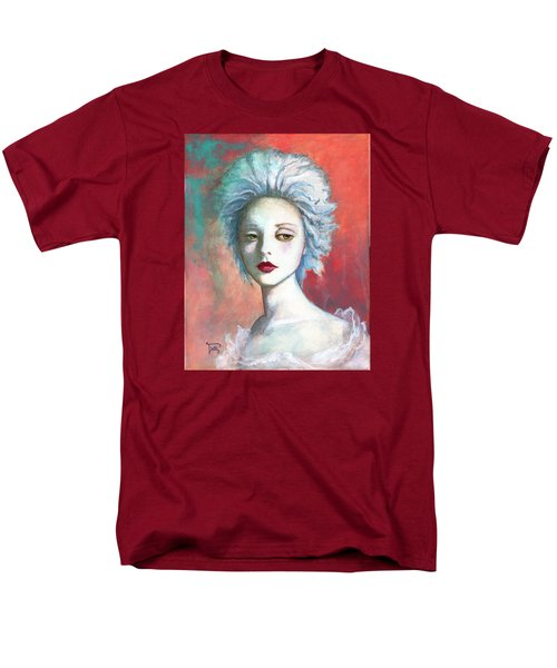 Men's T-Shirt  (Regular Fit) featuring the painting Sweet Love Remembered by Terry Webb Harshman
