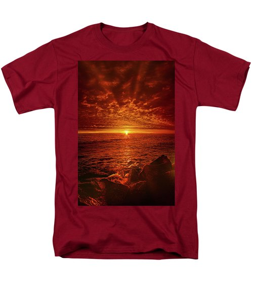 Men's T-Shirt  (Regular Fit) featuring the photograph Swiftly Flow The Days by Phil Koch