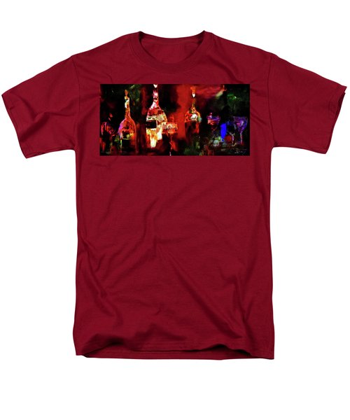 Men's T-Shirt  (Regular Fit) featuring the painting Taste Of Wine by Lisa Kaiser