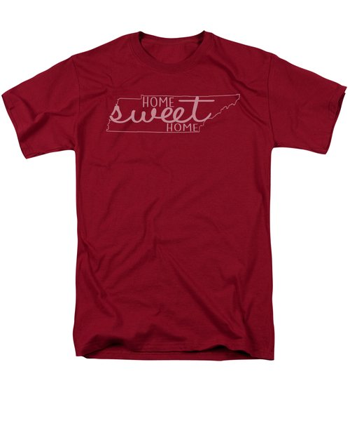 Men's T-Shirt  (Regular Fit) featuring the digital art Tennessee Home Sweet Home by Heather Applegate