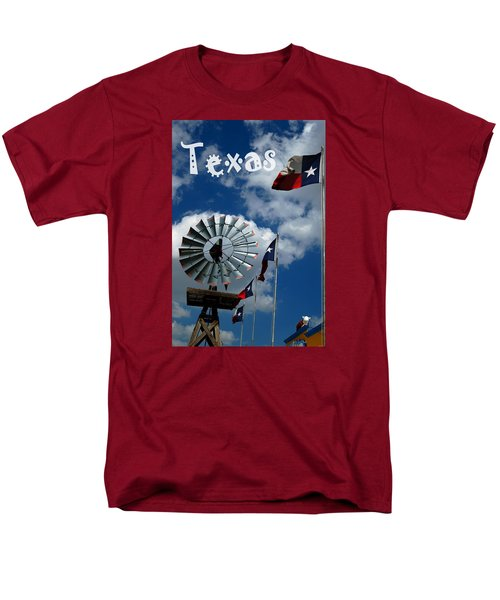 Texas Men's T-Shirt  (Regular Fit)