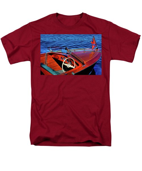 The 1958 Chris Craft Men's T-Shirt  (Regular Fit) by David Patterson