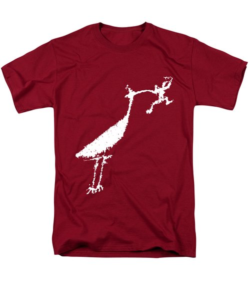Men's T-Shirt  (Regular Fit) featuring the photograph The Crane by Melany Sarafis
