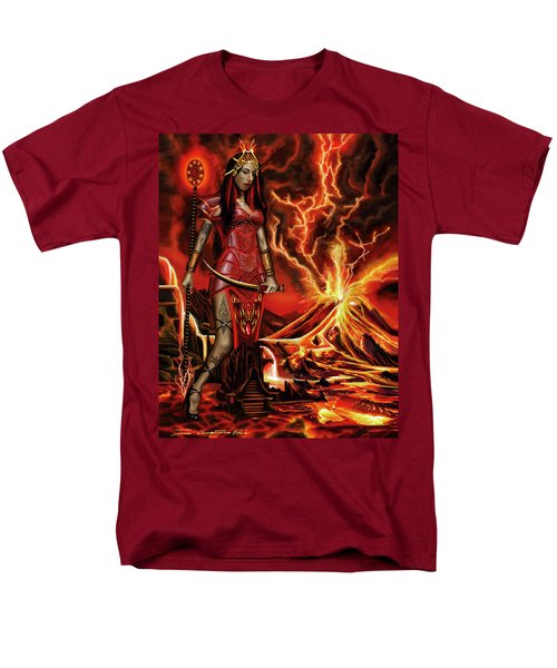 The Goodess Pele Of Hawaii Men's T-Shirt  (Regular Fit) by James Christopher Hill