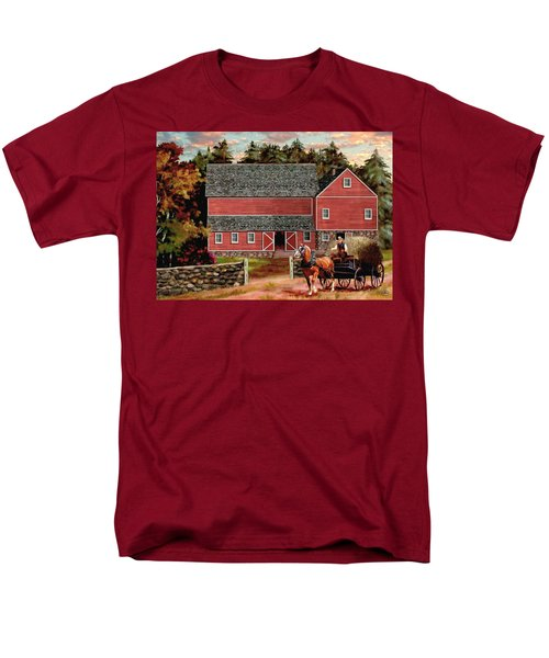 The Last Wagon Men's T-Shirt  (Regular Fit) by Ron Chambers