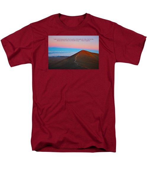 The Moments That Take Our Breath Away Men's T-Shirt  (Regular Fit) by Venetia Featherstone-Witty