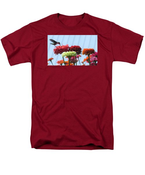 Thristy Hummer Men's T-Shirt  (Regular Fit) by Jeanette Oberholtzer