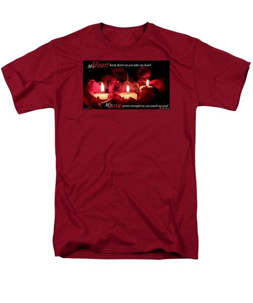 Men's T-Shirt  (Regular Fit) featuring the photograph Touch My Soul by David Norman