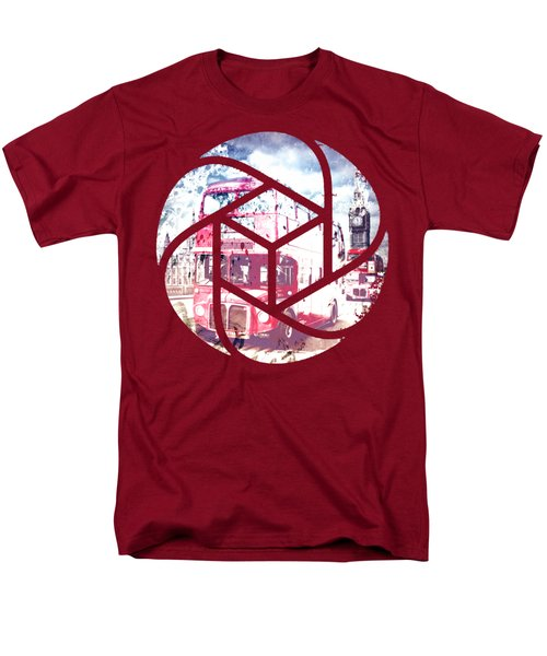 Trendy Design London Red Buses  Men's T-Shirt  (Regular Fit) by Melanie Viola