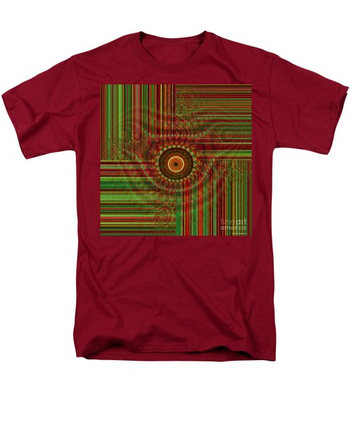 Tribal Drape Men's T-Shirt  (Regular Fit) by Thibault Toussaint