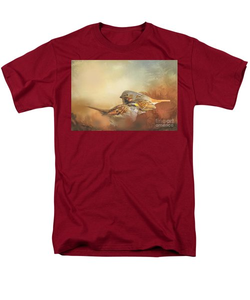 Sparrows In The Marsh 2 Men's T-Shirt  (Regular Fit) by Janette Boyd