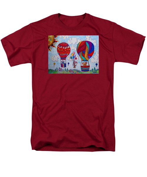 Up Up And Away Men's T-Shirt  (Regular Fit) by Megan Walsh