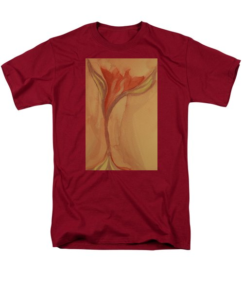 Men's T-Shirt  (Regular Fit) featuring the painting Uplifting by The Art Of Marilyn Ridoutt-Greene