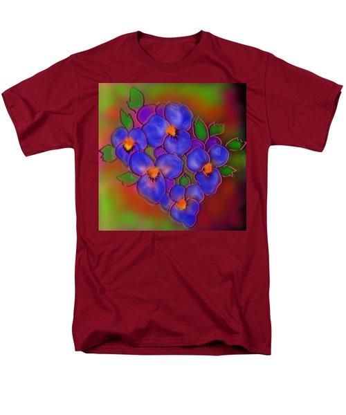 Men's T-Shirt  (Regular Fit) featuring the digital art Vasant Panchami by Latha Gokuldas Panicker
