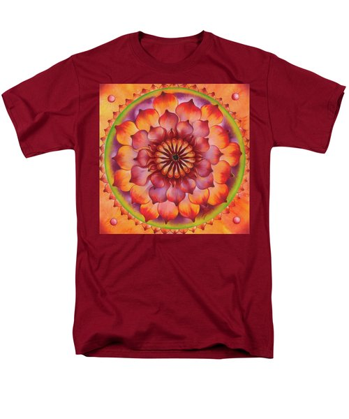 Vibration Of Joy And Life Men's T-Shirt  (Regular Fit) by Anna Ewa Miarczynska