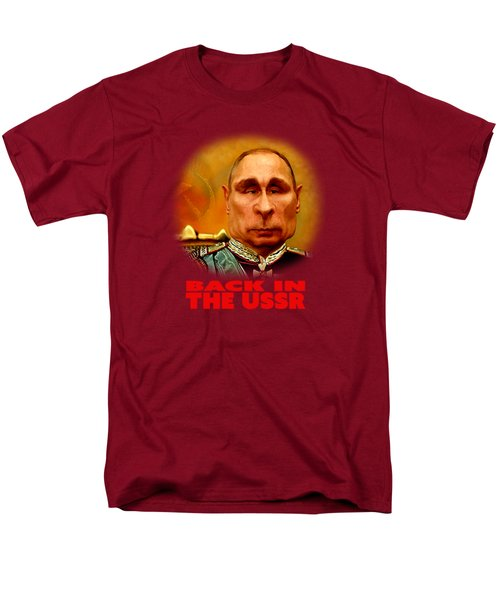 Vladimir Putin Men's T-Shirt  (Regular Fit) by Hans Neuhart