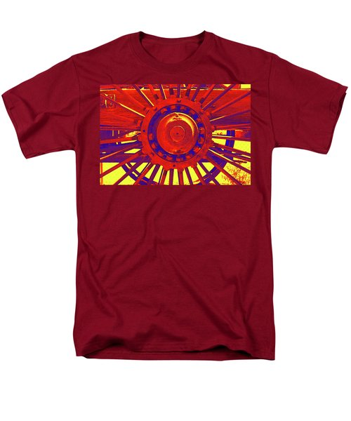 Wagon Wheel Men's T-Shirt  (Regular Fit)