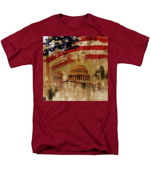 Washington Dc Men's T-Shirt  (Regular Fit) by Gull G