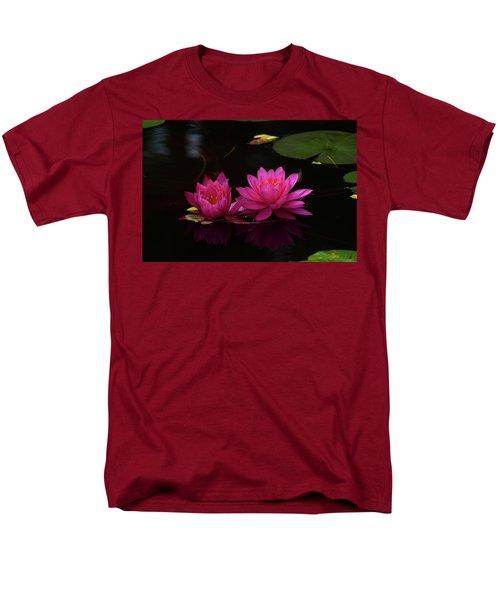 Water Lily Men's T-Shirt  (Regular Fit) by Nancy Landry