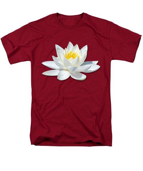White Lily 2 Men's T-Shirt  (Regular Fit) by Bob Slitzan
