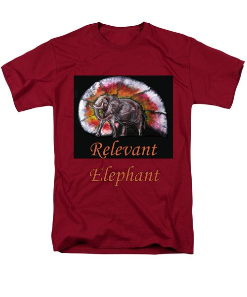 Wild Elephant Men's T-Shirt  (Regular Fit) by Tom Conway