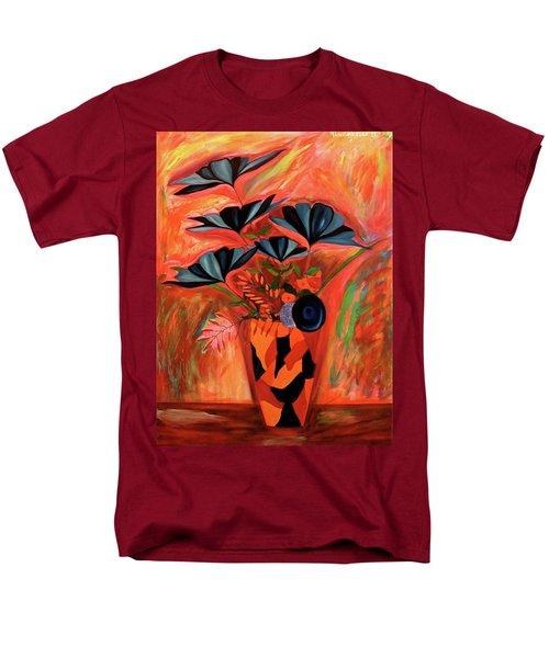 Wild Flowers  A Still Life  Men's T-Shirt  (Regular Fit)