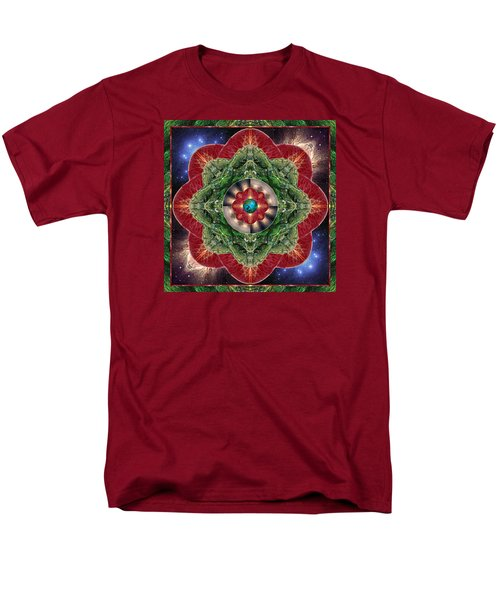 Men's T-Shirt  (Regular Fit) featuring the photograph World-healer by Bell And Todd