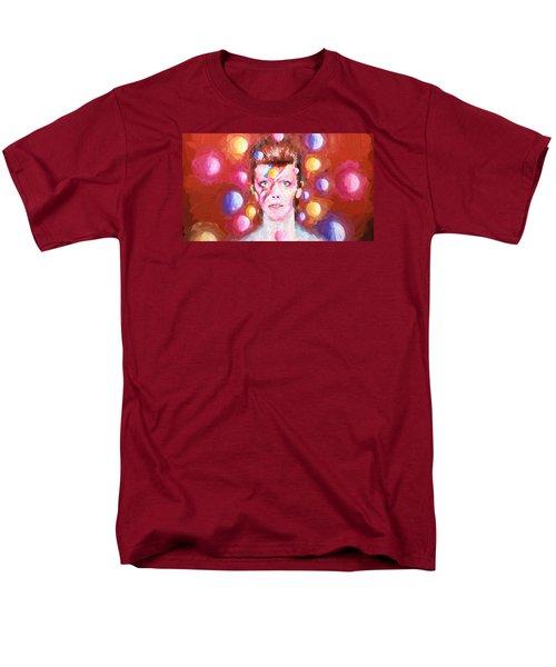 Ziggy Stardust  Men's T-Shirt  (Regular Fit) by Louis Ferreira