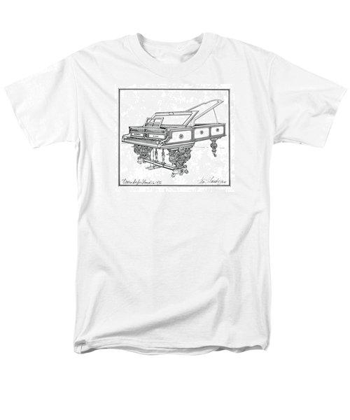 Bosendorfer Centennial Grand Piano Men's T-Shirt  (Regular Fit) by Ira Shander