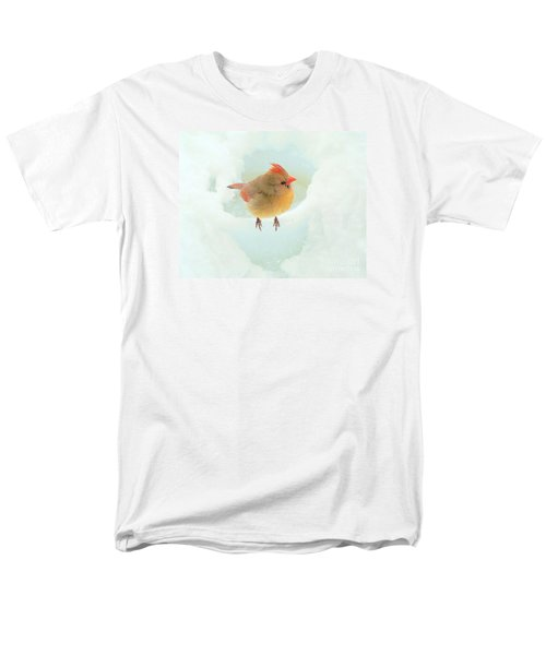 Baby Female Cardinal Men's T-Shirt  (Regular Fit) by Janette Boyd