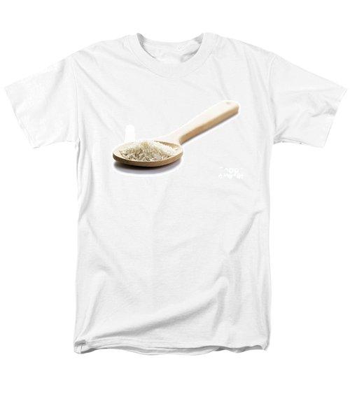 Men's T-Shirt  (Regular Fit) featuring the photograph Basmati Rice by Lee Avison