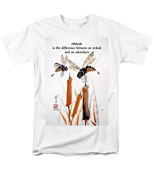 Men's T-Shirt  (Regular Fit) featuring the painting Beeing Present by Bill Searle