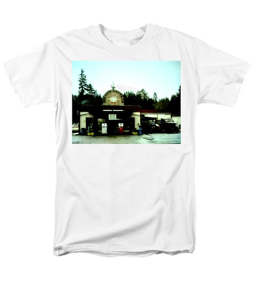 Men's T-Shirt  (Regular Fit) featuring the painting Big Eds by Luis Ludzska