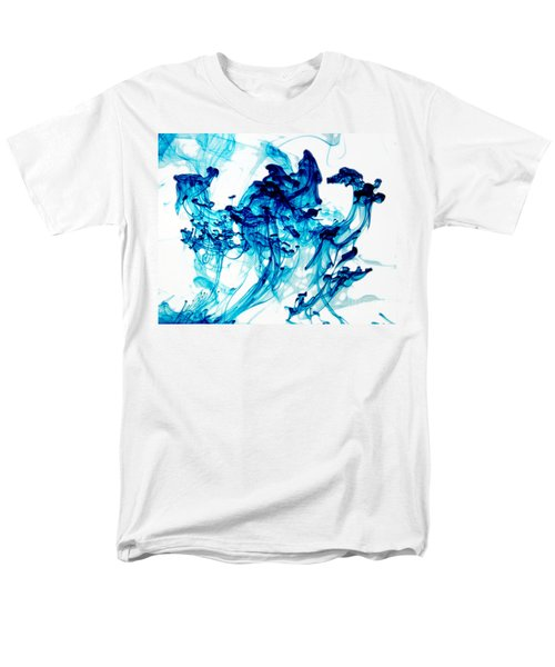 Blue Chaos Men's T-Shirt  (Regular Fit)