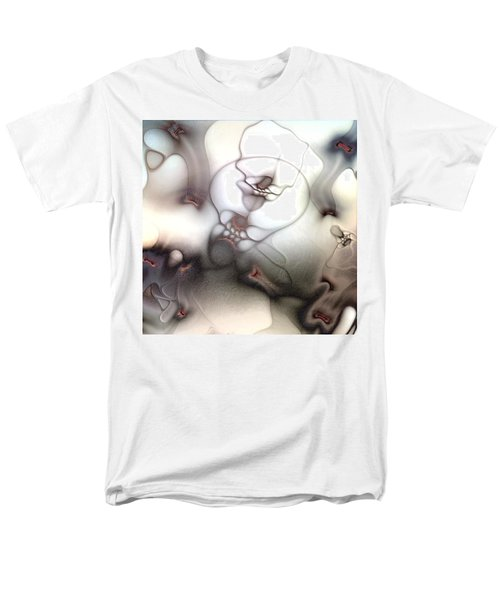 Men's T-Shirt  (Regular Fit) featuring the digital art Ceaseless Vicissitude by Casey Kotas