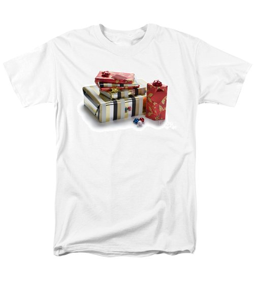 Men's T-Shirt  (Regular Fit) featuring the photograph Christmas Gifts by Lee Avison
