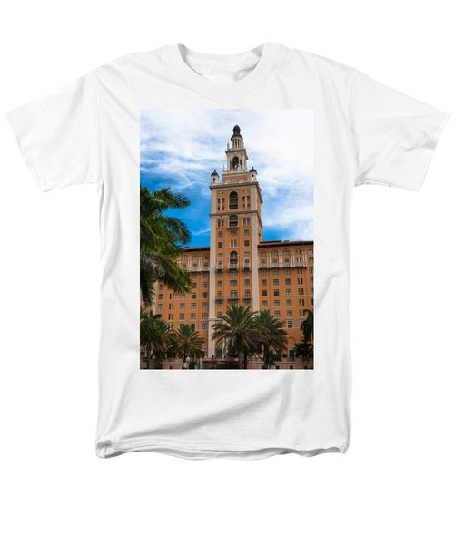 Coral Gables Biltmore Hotel Men's T-Shirt  (Regular Fit) by Ed Gleichman