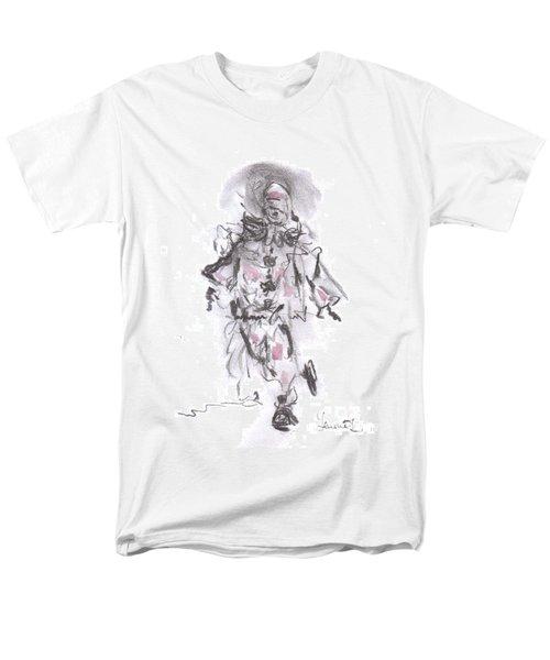 Dancing Clown Men's T-Shirt  (Regular Fit) by Laurie L