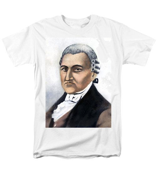 Men's T-Shirt  (Regular Fit) featuring the painting David Brearley (1745-1790) by Granger