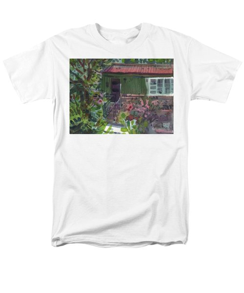 Men's T-Shirt  (Regular Fit) featuring the painting Entrance by Donald Maier