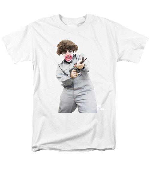 Female Psycho Killer Men's T-Shirt  (Regular Fit) by Jorgo Photography - Wall Art Gallery