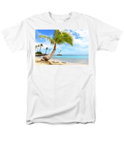 Men's T-Shirt  (Regular Fit) featuring the photograph Hawaiian Paradise by Kristine Merc