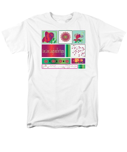 Laugh Men's T-Shirt  (Regular Fit) by Iris Gelbart
