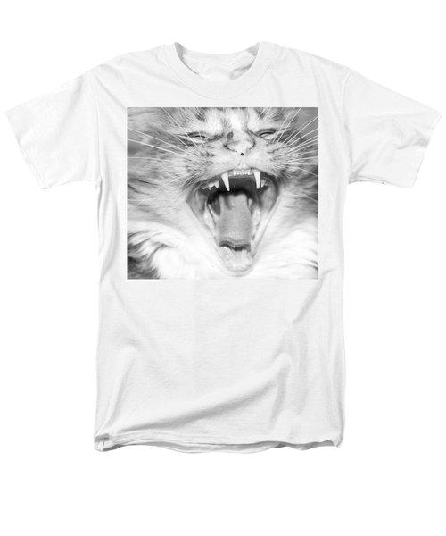 Laughing Cat Men's T-Shirt  (Regular Fit) by Jeannette Hunt