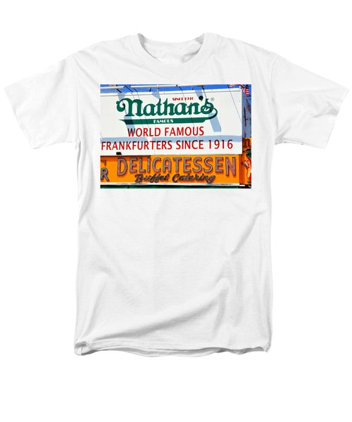 Nathan's Sign Men's T-Shirt  (Regular Fit) by Valentino Visentini
