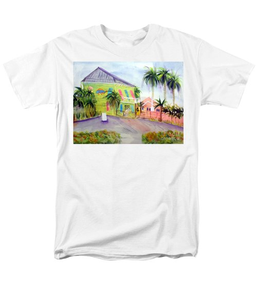 Old Key Lime House Men's T-Shirt  (Regular Fit) by Donna Walsh