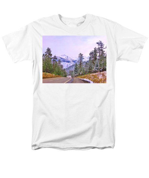 Sierra Storm Men's T-Shirt  (Regular Fit) by Marilyn Diaz